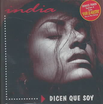 DICEN QUE SOY BY INDIA (CD)